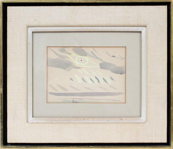 012005: ARTHUR G. DOVE (AMERICAN 1880-1946), WATERCOLOR