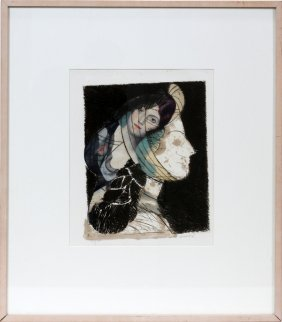 "012011: MANOLO VALDES, ETCHING, 15"" X 11.5"","