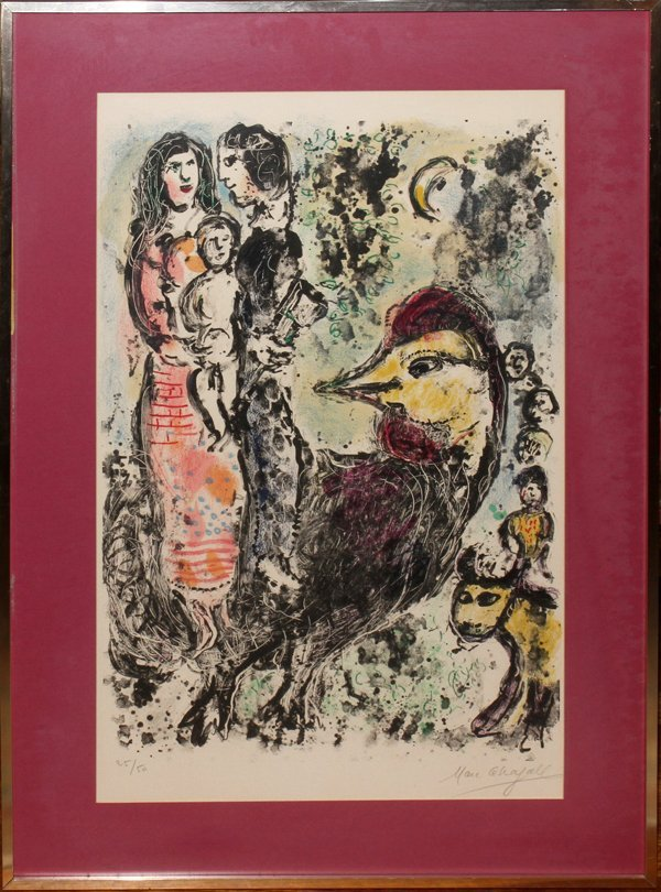 012012: MARC CHAGALL (FRENCH/RUSSIAN), LITHOGRAPH