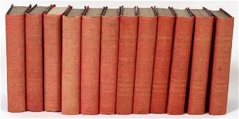 SHAKESPEARES WORKS MINI LEATHER BOUND BOOKS
