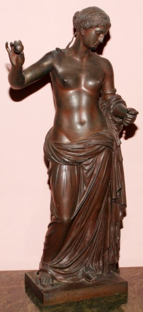 FRENCH BRONZE SCULPTURE, F. BARBEDIENNE FOUNDRY