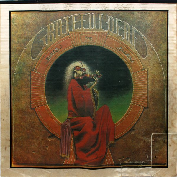 GRATEFUL DEAD, 'BLUES FOR ALLAH', WALL HANGING