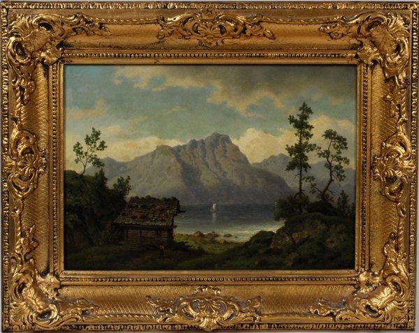 LEONHARD RAUSCH (GERMAN,) OIL ON CANVAS