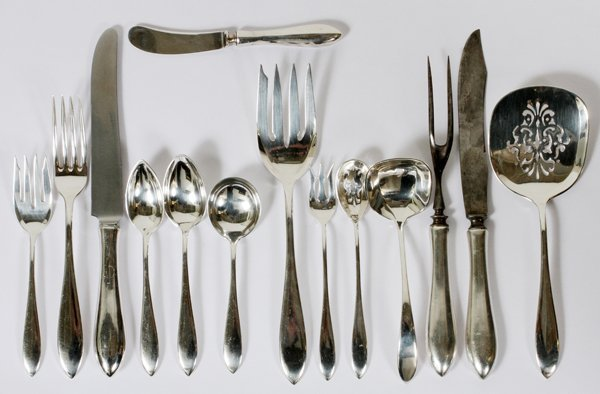 TOWLE AND OTHER ASSORTED STERLING FLATWARE SET