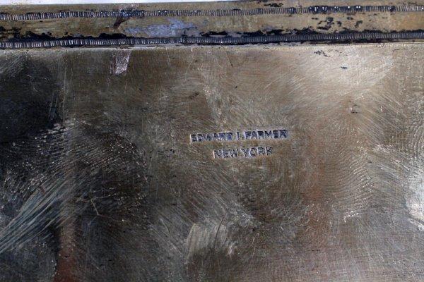 EDWARD I. FARMER STERLING, CHINESE JADE BOX - 7