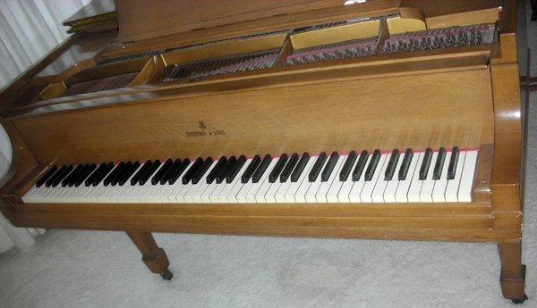 STEINWAY MAHOGANY BABY GRAND PIANO, C. 1934 - 10