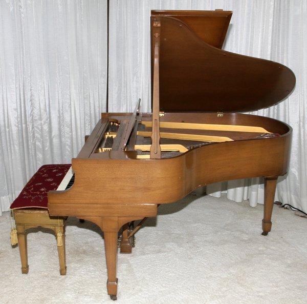 STEINWAY MAHOGANY BABY GRAND PIANO, C. 1934 - 2