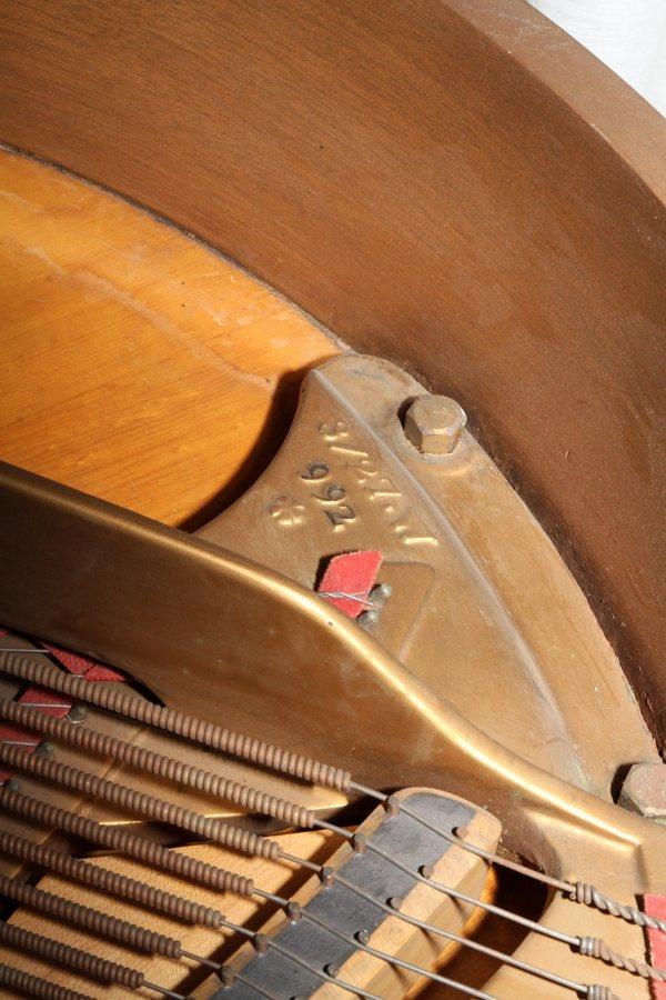 STEINWAY MAHOGANY BABY GRAND PIANO, C. 1934 - 6