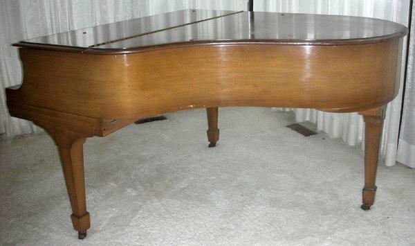 STEINWAY MAHOGANY BABY GRAND PIANO, C. 1934 - 7