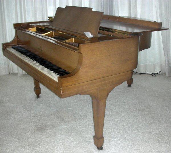 STEINWAY MAHOGANY BABY GRAND PIANO, C. 1934 - 8
