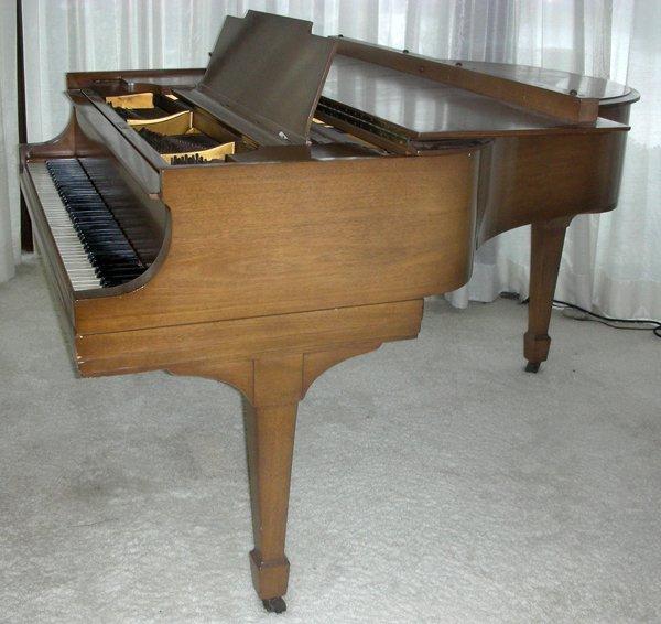 STEINWAY MAHOGANY BABY GRAND PIANO, C. 1934 - 9