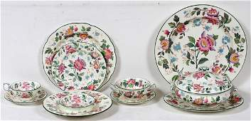 WEDGWOOD TONQUIN DINNER SET 107 PIECES 2405