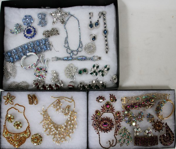 COSTUME JEWELRY BY DIOR HOBE OTHERS, OVER 100 - 2