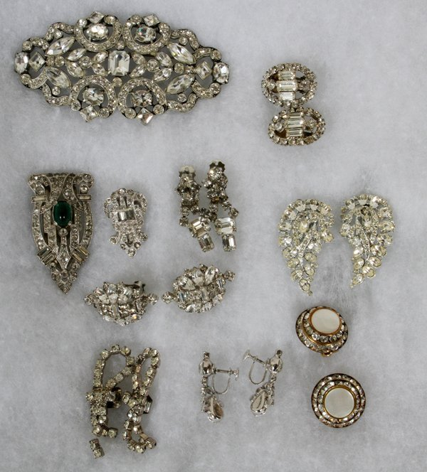COSTUME JEWELRY BY DIOR HOBE OTHERS, OVER 100 - 4