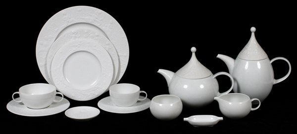 ROSENTHAL 'MAGIC FLUTE PORCELAIN DINNER SERVICE