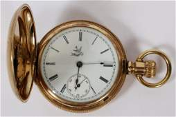 ELGIN NATIONAL WATCH GOLD FILLED POCKET WATCH