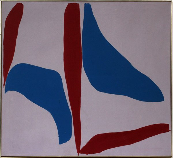 """RAY PARKER OIL ON CANVAS, 32"""" X 35"""", 1967"""