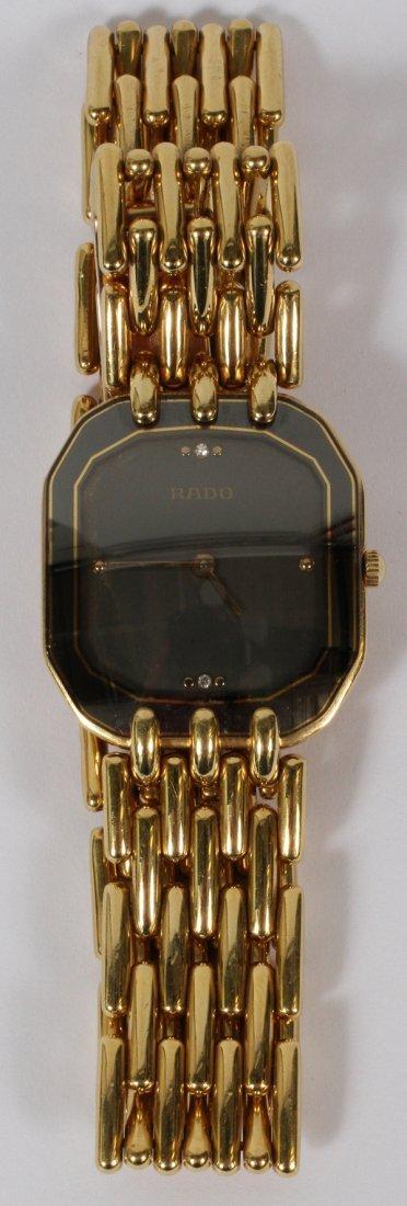 RADO, 18KT YELLOW GOLD VINTAGE WATCH
