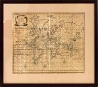 "EMANUEL BOWEN, MAP PRINT ""A NEW & CORRECT CHART"""