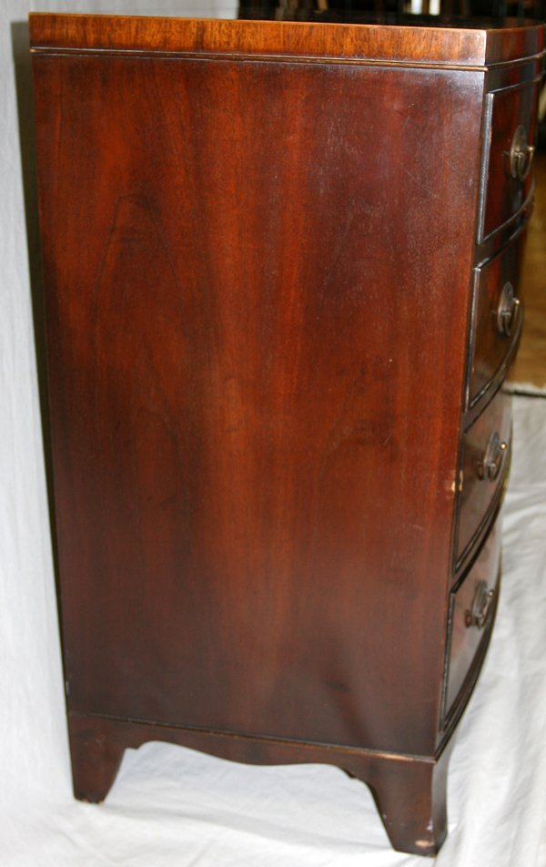 BAKER FURNITURE CO. MAHOGANY CHEST OF DRAWERS - 4