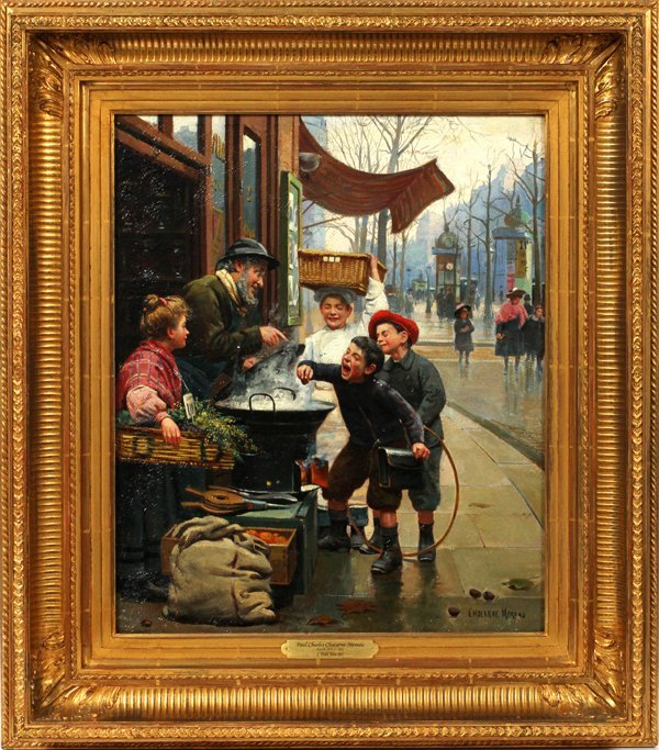 P. CHARLES-CHOCARNE MOREAU OIL 'LOOK BEFORE YOU'