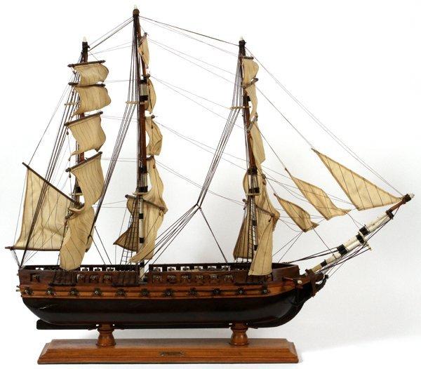 SHIP MODEL, CONSTITUTION 1797