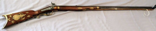 KENTUCKY .38 CAL PERCUSSION CAP RIFLE C1840