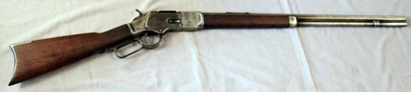 WINCHESTER MODEL 1873 LEVER ACTION RIFLE .32 CAL