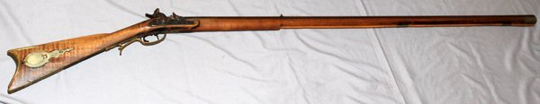KENTUCKY FULL STOCK PERCUSSION CAP RIFLE .32 CAL