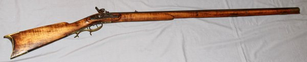 KENTUCKY STYLE HUNTING RIFLE C1850