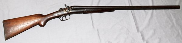 DOUBLE BARREL CARTRIDGE SHOTGUN