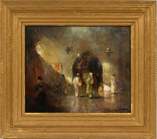 DOUGLAS ARTHUR TEED OIL, INTERIOR OF A MOSQUE