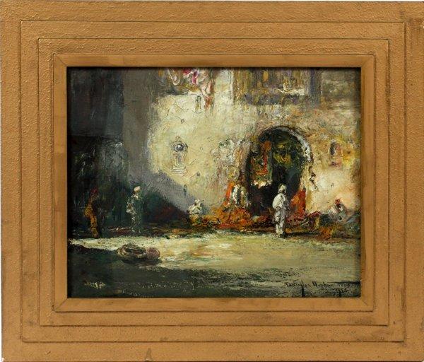 DOUGLAS ARTHUR TEED OIL, 1920 ARAB STREET SCENE