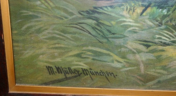 M. MULLER MUNCHEN COLOR PRINT X - 2