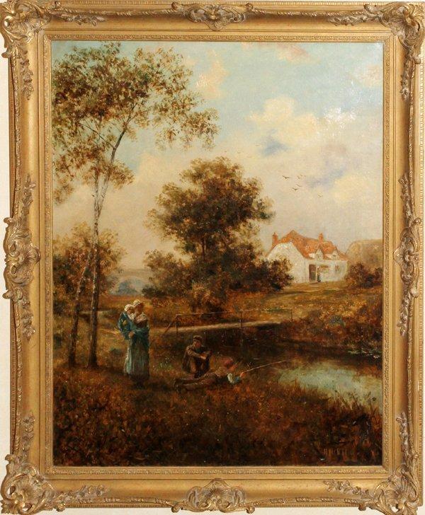 HENRY MARTIN OIL ON CANVAS, BRITISH 1835-08