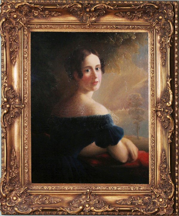 R. STREET OIL, PORTRAIT OF A YOUNG WOMAN