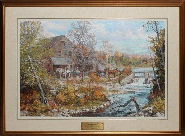 PETER ETRIL SNYDER OIL, 1982, GREIN'D MILL