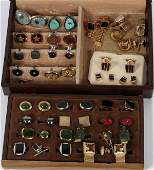 COSTUME CUFFLINK GROUPING APPROX. 29 PIECES