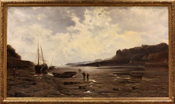 MARIE-JOSEPH-LÉON CLAVEL I WILL FRENCH OIL FISHING BOAT