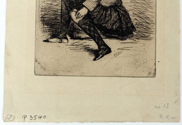 JAMES A. MCNEILL WHISTLER ETCHING, SEYMOUR - 2