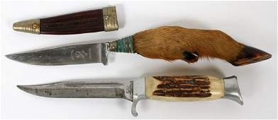 GERMAN HUNTING KNIVES TWO