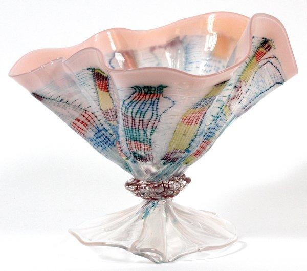 JOHN LITTLETON GLASS VASE 1981