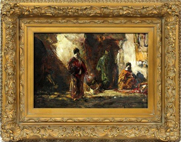 DOUGLAS ARTHUR TEED OIL ON CANVAS 1921