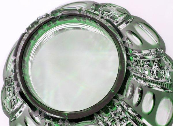 DORFLINGER 'MONTROSE'  GLASS PUNCHBOWL SET C. 1900 - 4