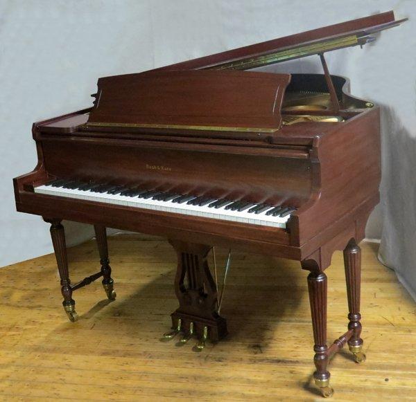 BUSH AND LANE MAHOGANY BABY GRAND PIANO 1930