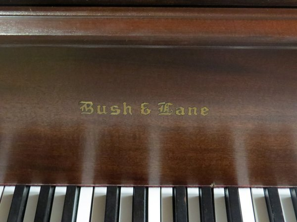 BUSH AND LANE MAHOGANY BABY GRAND PIANO 1930 - 2