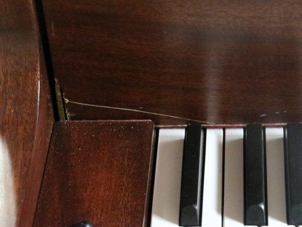 BUSH AND LANE MAHOGANY BABY GRAND PIANO 1930 - 3