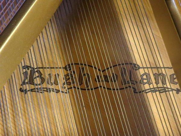BUSH AND LANE MAHOGANY BABY GRAND PIANO 1930 - 4