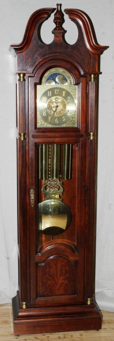 howard miller mahogany grandfather clock - Howard Miller Clocks