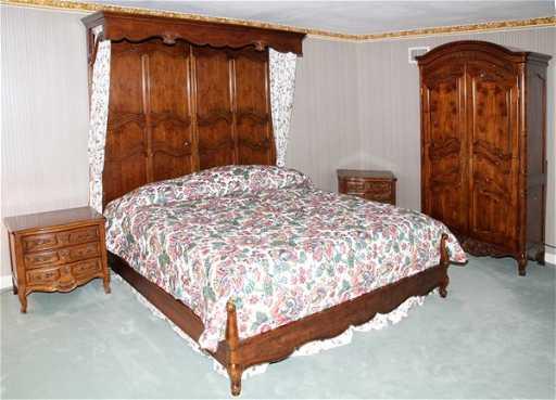 HENREDON MAHOGANY BEDROOM SET 6 PIECES